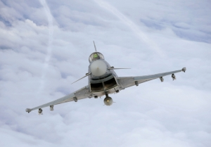 German Typhoons have intercepted 7 Russian Air Force combat planes