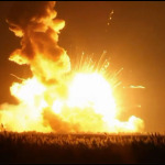 NASA Rocket Explodes At Wallops Island in Va.