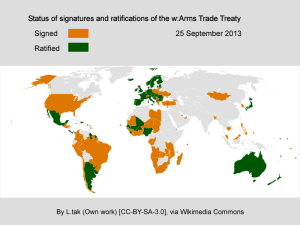 UN Declares Arms Trade Treaty to Go Into Effect Dec. 24