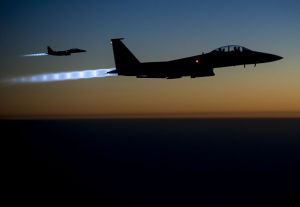 Canada launches first air strikes against ISIL in Iraq