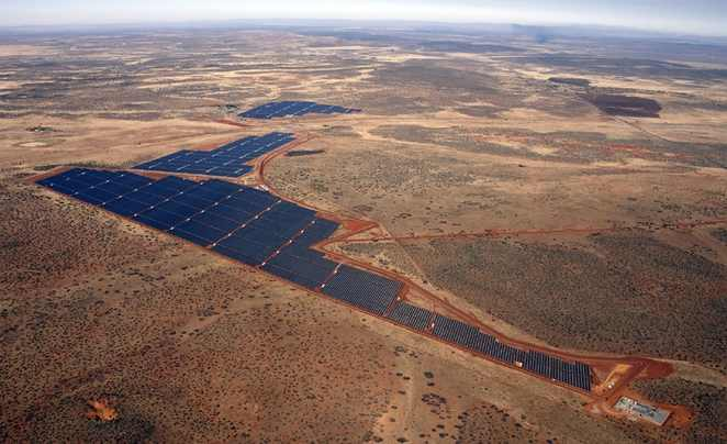 Largest Solar Farm In Africa Becomes Fully Operational