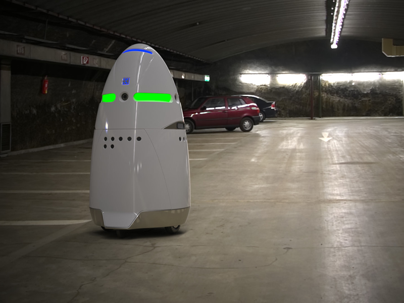 K5, The Autonomous Security Robot from Knightscope
