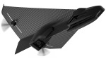 This RC Carbon Fiber Glider Looks Like a Stealthy Paper Airplane