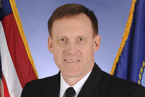 U.S. Navy Vice Admiral Michael S. Rogers