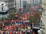 Violent March in Brussels Against Austerity