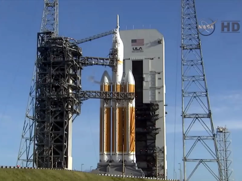 NASA's Orion Test Launch