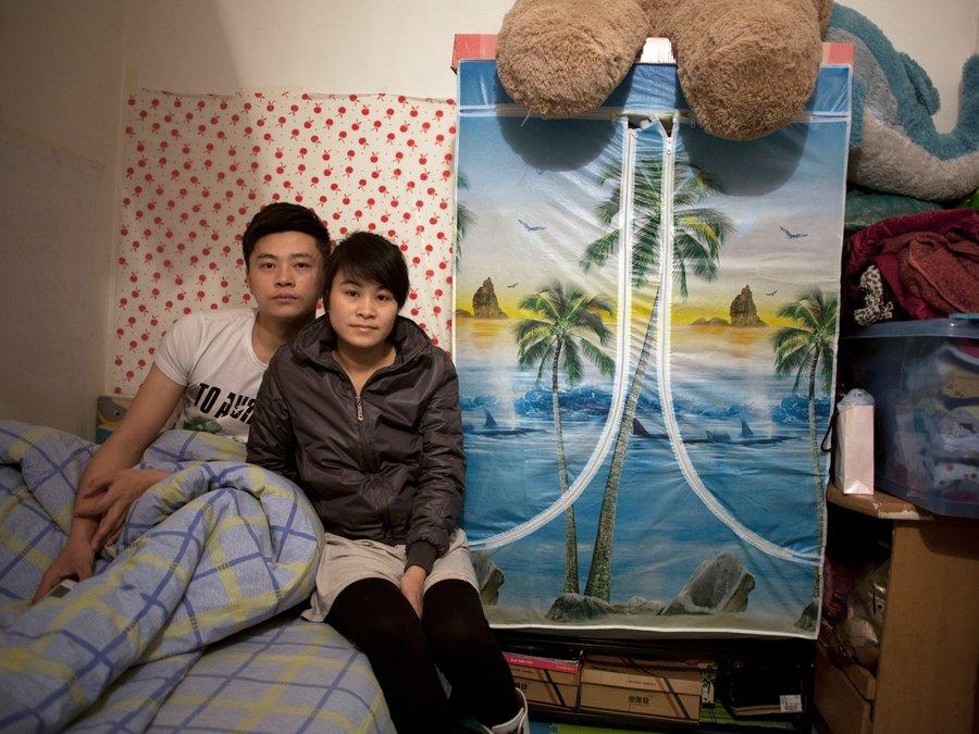 Zhuang Qiuli and her boyfriend Feng Tao