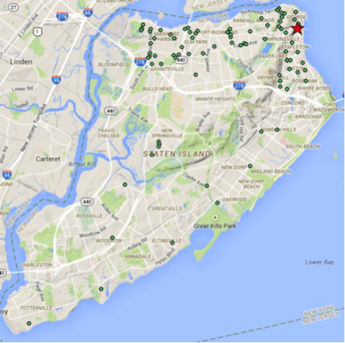 109 lawsuits that originated in Staten Island