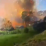 10 Tons of Fireworks Explode at Warehouse in Colombia