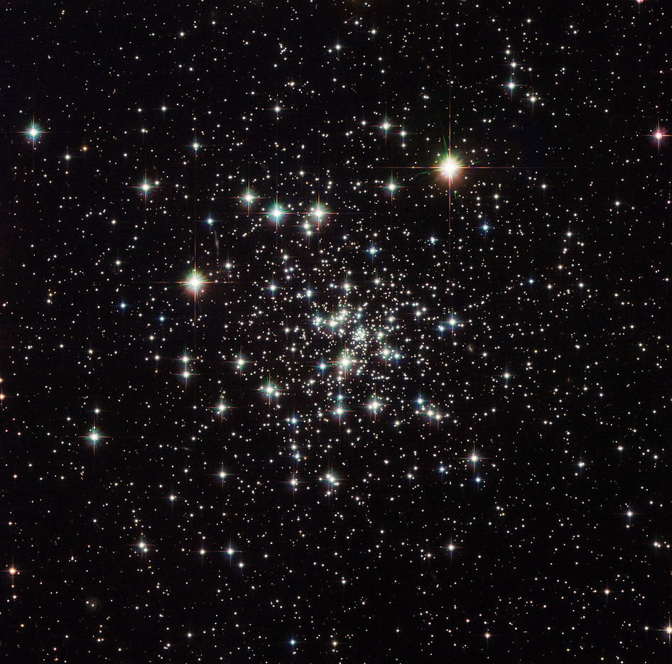 Hubble Sees an Ancient Globular Cluster