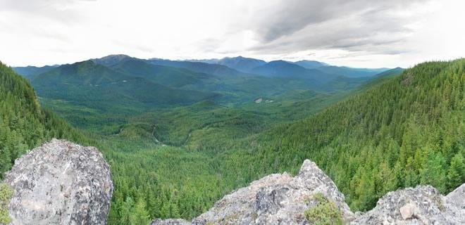 """""""Mount Zion - west slope, Olympic National Forest"""" by Farwestern Photo by Gregg M. Erickson - Own work. Licensed under CC BY 3.0 via Wikimedia Commons."""
