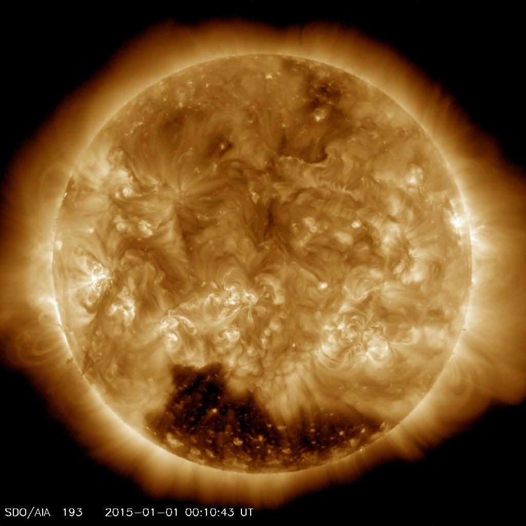 Nasa Reveals Huge Coronal Hole Where Winds Reach 500 Miles Per Second