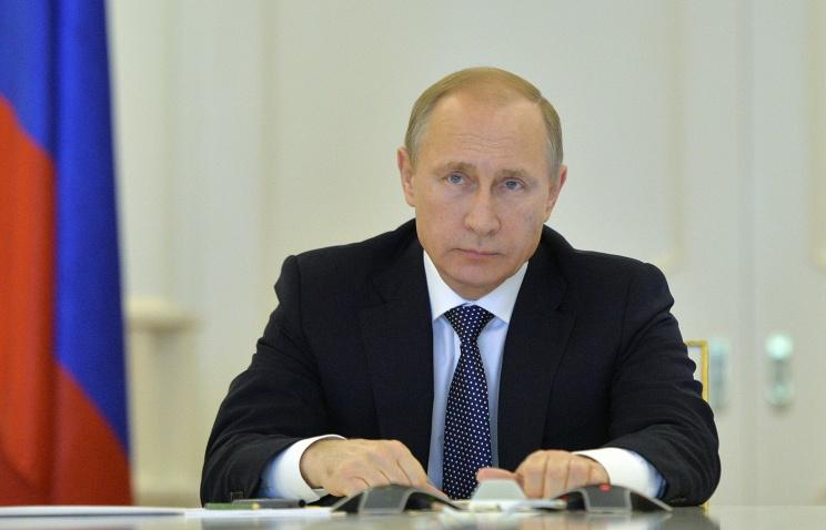 Putin sends New Year greetings