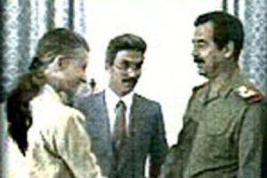Glaspie meets Hussein