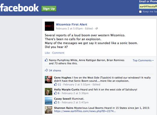 Booms Texas Wicomico Cty 020215 Facebook