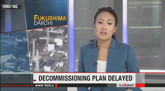 Failure at Fukushima — Cement not stopping highly contaminated nuclear waste