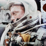 John Glenn During the Mercury-Atlas 6 Spaceflight
