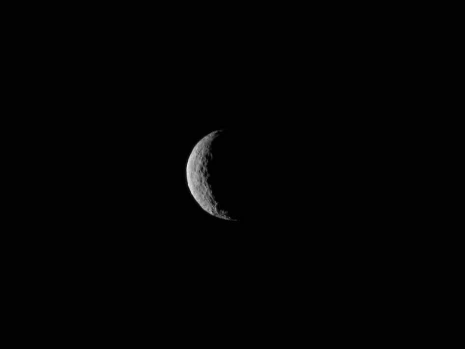Ceres Seen From NASA's Dawn Spacecraft