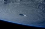 Space Station Flies Over Super Typhoon Maysak