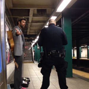 A license to Harrass - Andrew Kellene, Subway Musician Arrested