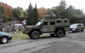 Sheriff Sends 24 Cops And Armored Vehicle To Collect Civil Judgement From 77 Y/O
