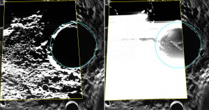 First Photos of Water Ice on Mercury