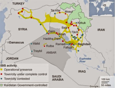 Reports ISIS Supply Lines Originate in NATO's Turkey