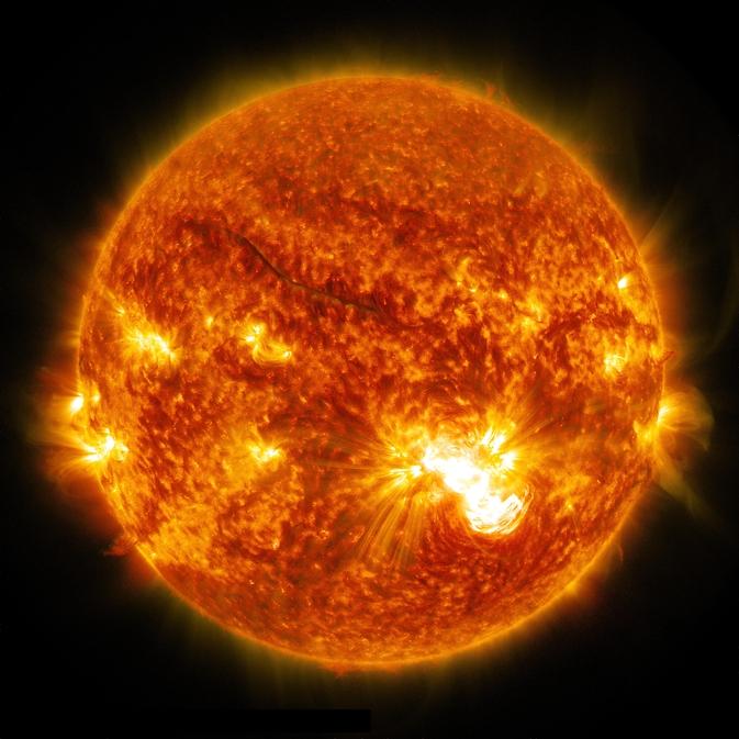 Monster Sunspot May Unleash Powerful Solar Flares - AR 12192