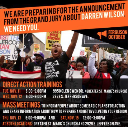 Direct Action Trainings