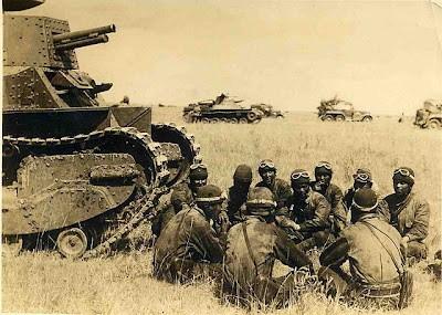 Tank crew