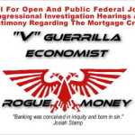 V Guerrilla Bombshell! The Mortgage Crisis And Funding Of Terrorist Activities