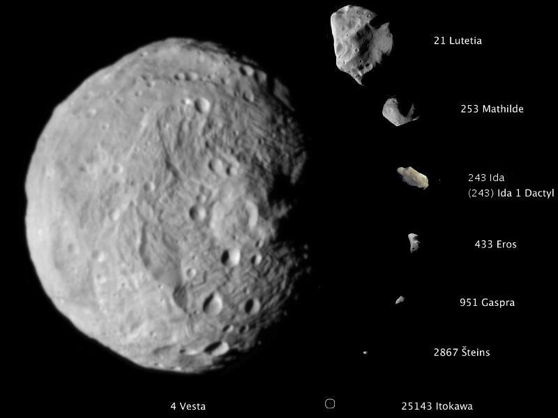 Mountain-sized Asteroid Heading Our Way