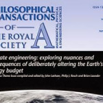 Elite Think Tank Admits to Ongoing Climate Engineering