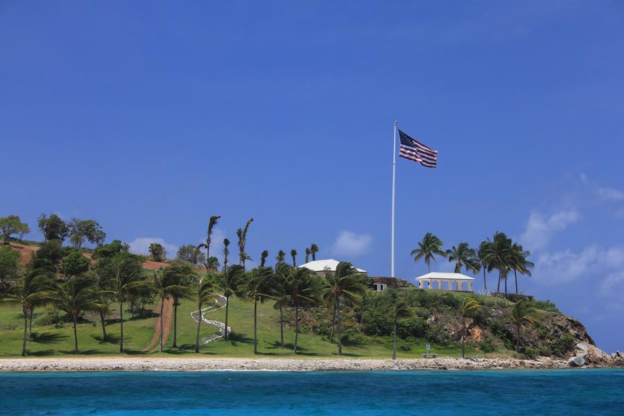 Little St James Island. Estate of Jeffrey Epstein. Image credit: Navin75
