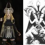 Madonna Super Bowl Baphomet