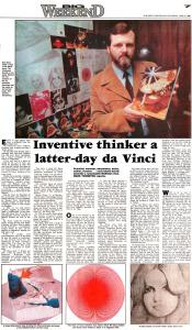 Inventive Thinker a Latter-day Da Vinci