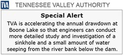 Tennessee Valley Authority Alert