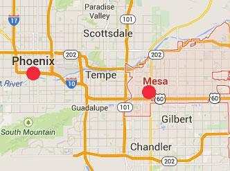 Booms Arizona Mesa MAP