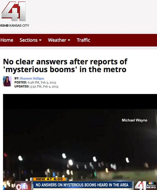 Booms Kansas City Missouri 020315