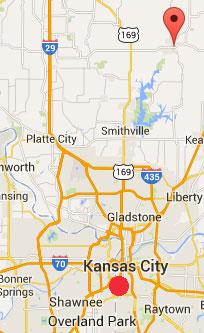 Booms Missouri Plattsbur gKansas City MAP