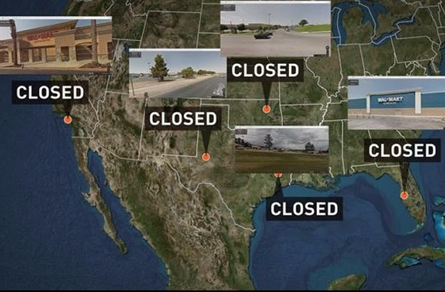 Walmart Closures for Plumbing Repairs? Is This Coincidence?